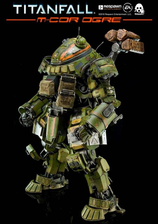"New to pre-order! THREEZERO: TITANFALL M-COR OGRE 20"" COLLECTIBLE ACTION FIGURE"