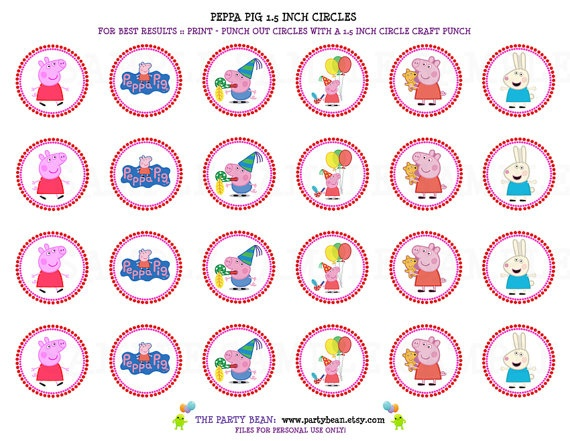 ... about Peppa Pig on Pinterest | Mesas, Amigos and Peppa pig party ideas