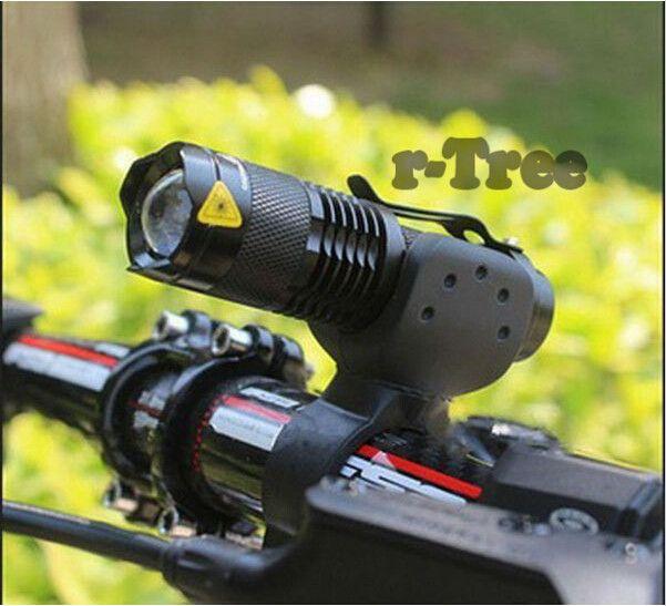 Fietslicht 7 Watt 2000 Lumen 3 Mode Bike Q5 LED fietsen Front Light fietsverlichting Lamp Torch Waterdicht ZOOM zaklamp BL0501