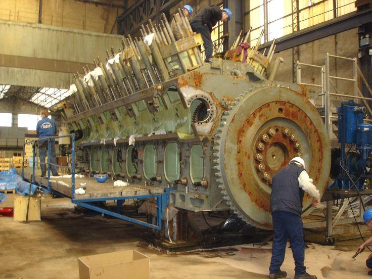 marine engineering Engines Ships