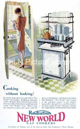 New World Gas Cooker Advert
