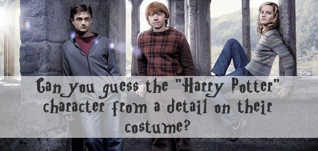i did ok i got 2 wrong. see for yourself just how good you are at recognising the harry potter characters outfits.