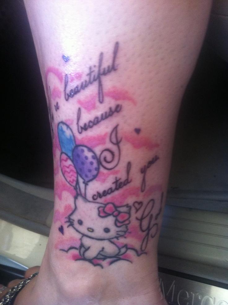449 best hello kitty tattoo images on pinterest hello for Hello kitty tattoo sleeve