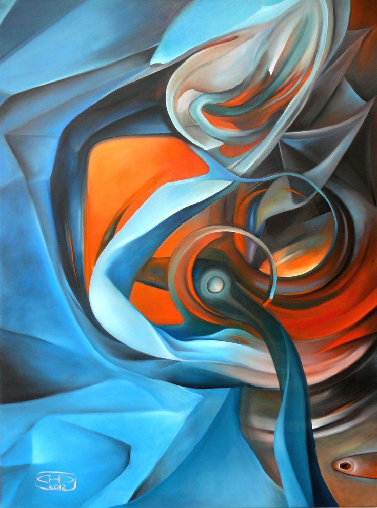 """oil painting - """"Klika"""""""