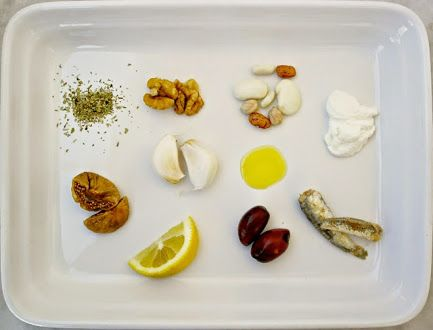 10 #GreekIngredients to add to your diet now... Greek-American nutritionist Elena Paravantes has compiled a great list on her #OliveTomato blog. 1 Dry oregano. 2 Walnuts. 3 Greek yogurt. 4 Garlic. 5 Small fish. 6 Olives. 7 Olive oil. 8 Beans. 9 Lemon. 10 Dried figs. It's reassuring to know that there's sound nutritional theory behind ingredients that make food taste so good. Thanks Elena! The full article: www.olivetomato.com.  Post: Nikki at www.pissouribay.com.