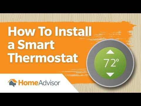 How to Install a Smart Thermostat | Guide for a Programmable Thermostat - YouTube