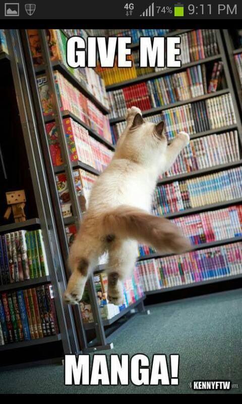 Give me manga!