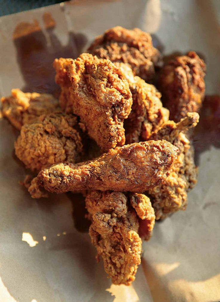 Cajun Fried Chicken Recipe | Real Cajun Cookbook (This Cajun fried chicken is bathed in buttermilk and spiced ever so slightly, making it memorably moist inside, superlatively crisp outside, and gosh darn perfect through and through.)