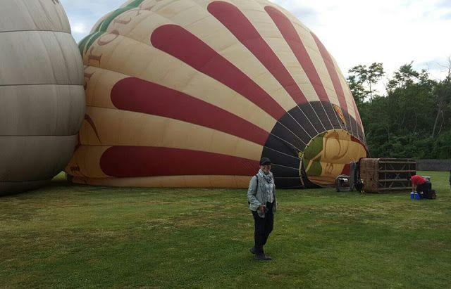 Blog  by  Nela: Una mañana volando en globo........   One morning ...