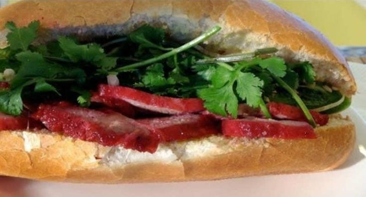 Bánh Mì - Vietnamese Sandwiches - The sandwich is a product of French colonialism in Indochina, combining ingredients from the French (baguettes, pâté and mayonnaise) with native Vietnamese ingredients, such as coriander, hot peppers, and pickled carrots.  - http://aussietaste.recipes/sandwiches-and-wraps/banh-mi-vietnamese-sandwiches/  -   #recipe