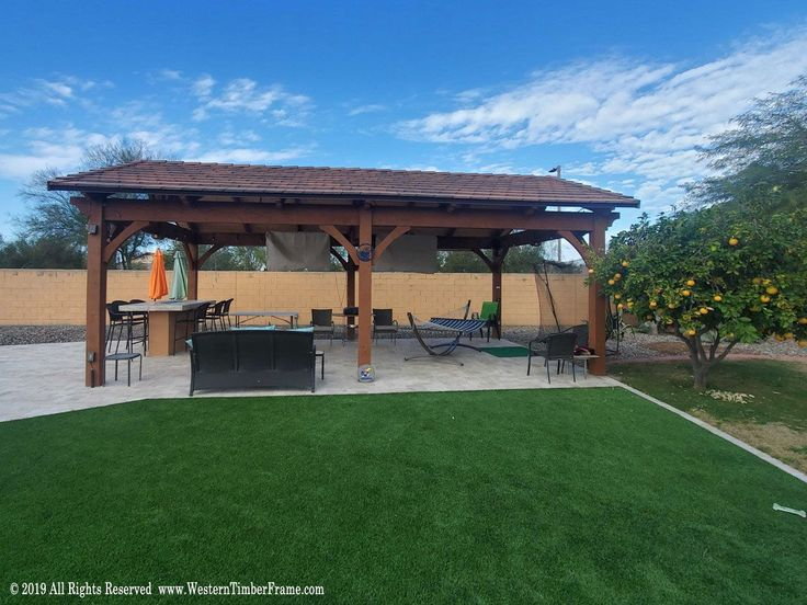 Best Gazebo Pavilion Kits Backyard Pavilion Big Houses 400 x 300
