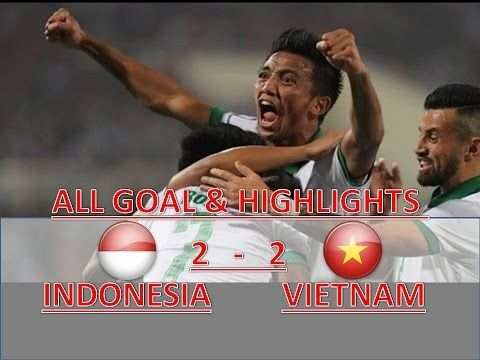 INDONESIA VS VIETNAM 2-2 ● Extended Highlights & All Goals ● AFF CUP HD ...