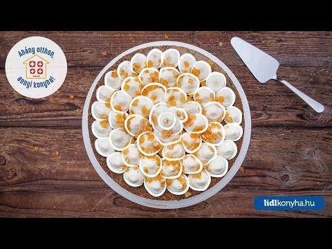 Narancsos máktorta vaníliás mascarponekrémmel