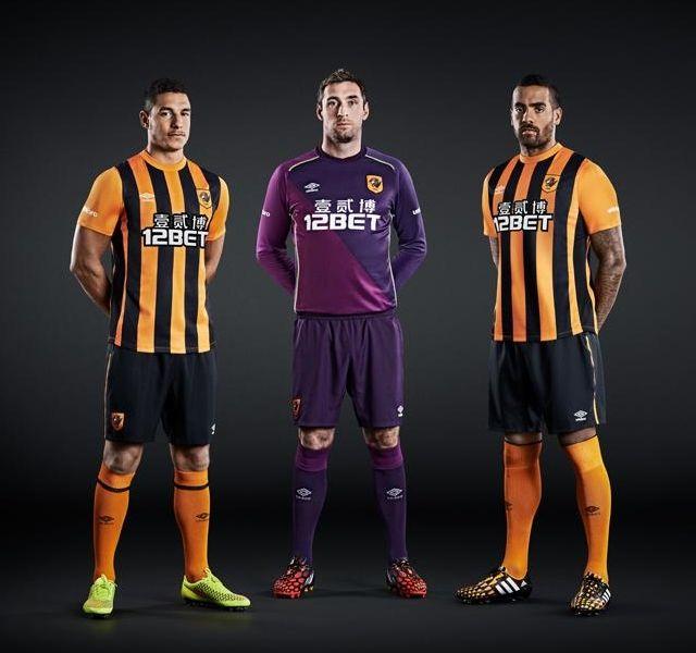 Hull City 2014-15 Umbro Home