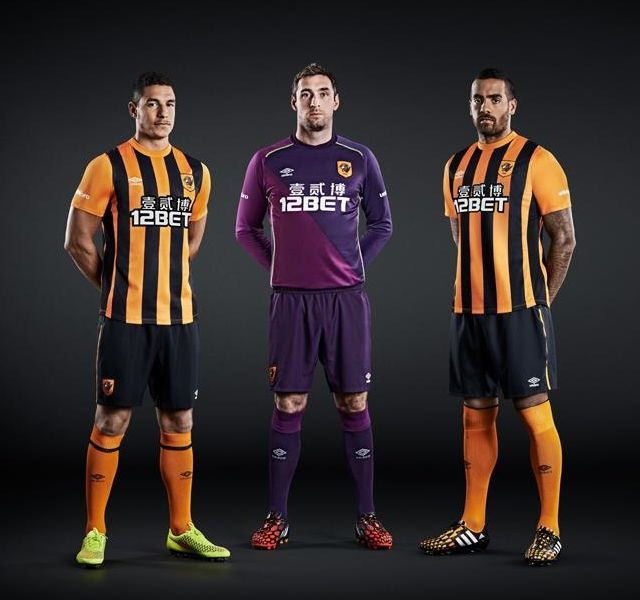 Hull City 2014-15 Umbro Home