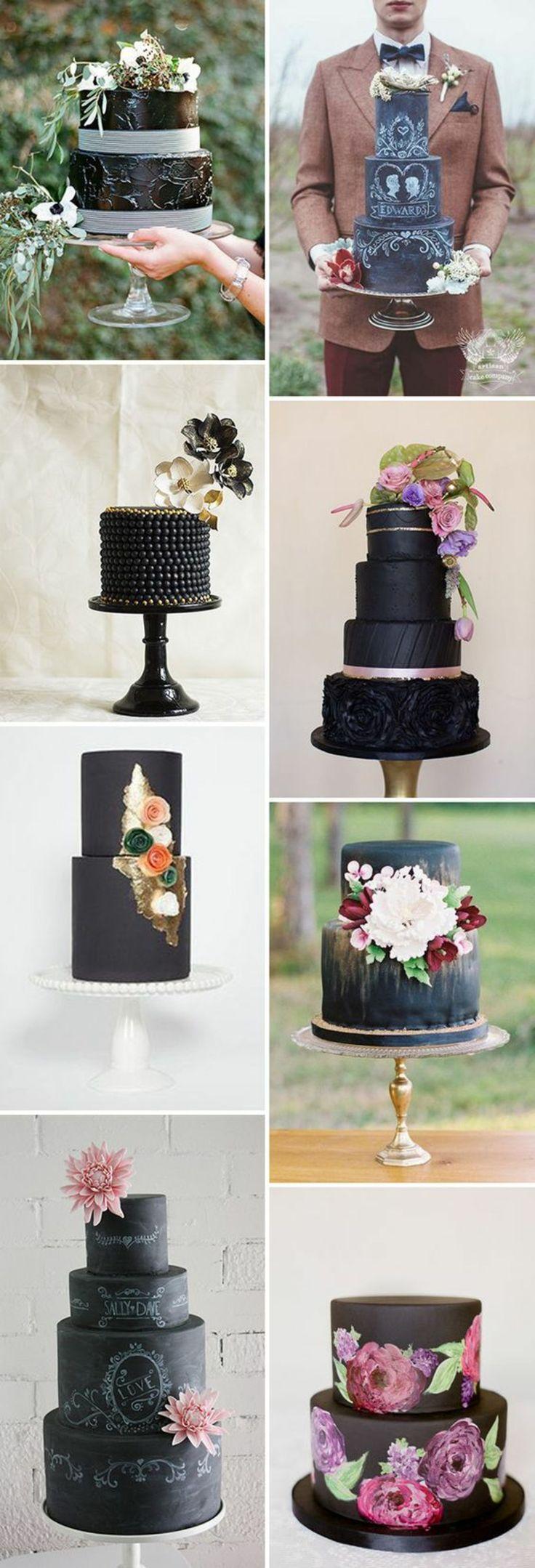 Schwarz Weiß Hochzeitstorten Bilder