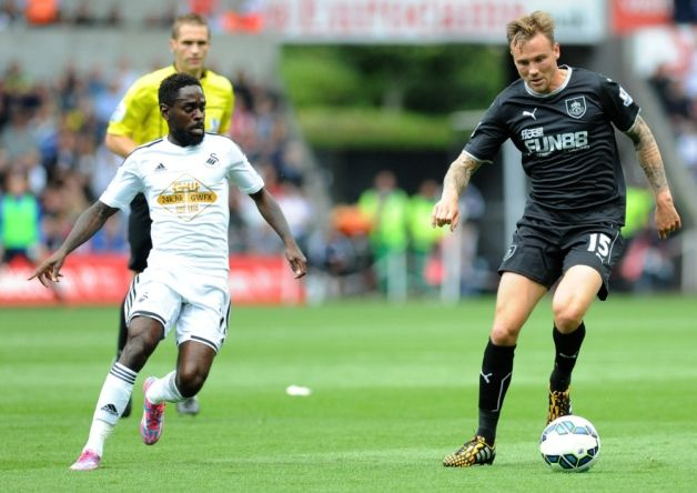 Former Clarets loanee Nathan Dyer aired his gratitude to the club after they kick-started his professional career.
