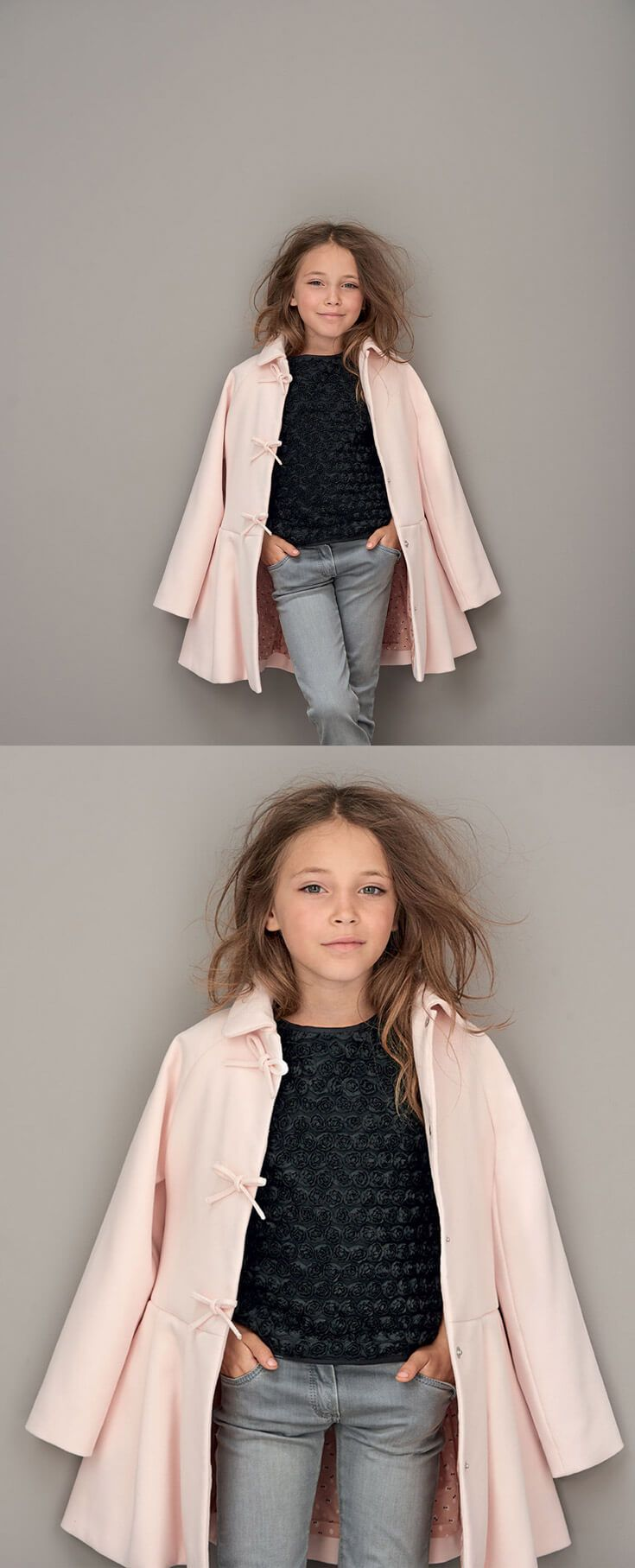 Fall Winter 2016 wardrobe fun for trendy girls. Pairing luxurious items from the Marèse Couture line and more casual attire for a classy urban look.  #bigbenkids #marese #girls #fashion #clothing #couture #luxury