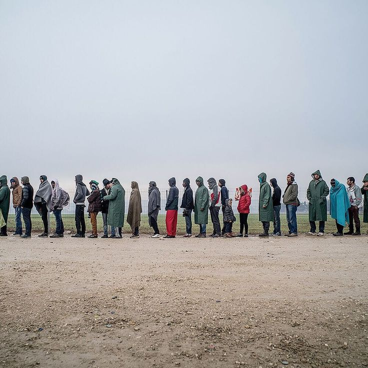 Migrants lined up to receive food near the border in Greece. 2015 has been a challenging year for the European Union  the refugee crisis the Greek debt showdown Russian aggression terrorism in the streets. In this weeks @nytmag @nytimes Rome bureau chief @yardleyjb asks: Has Europe reached its breaking point? Tomas Munita took this photo for @nytmag. #regram by nytimes