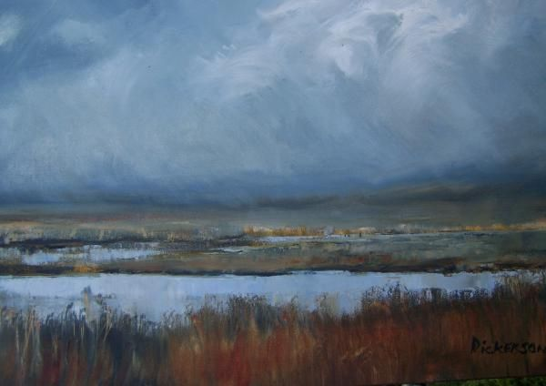 Wetland for Lumka by Marlene Dickerson