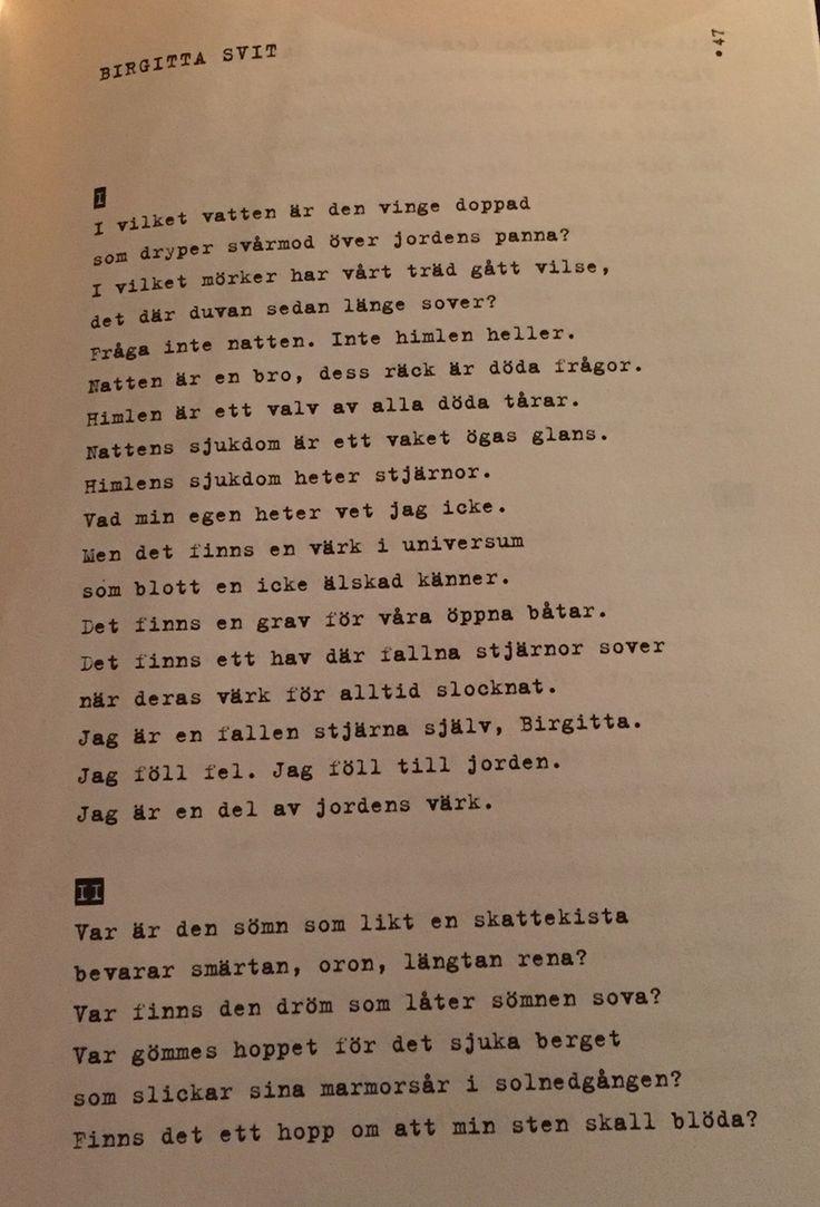 Stig Dagerman - Birgitta svit I