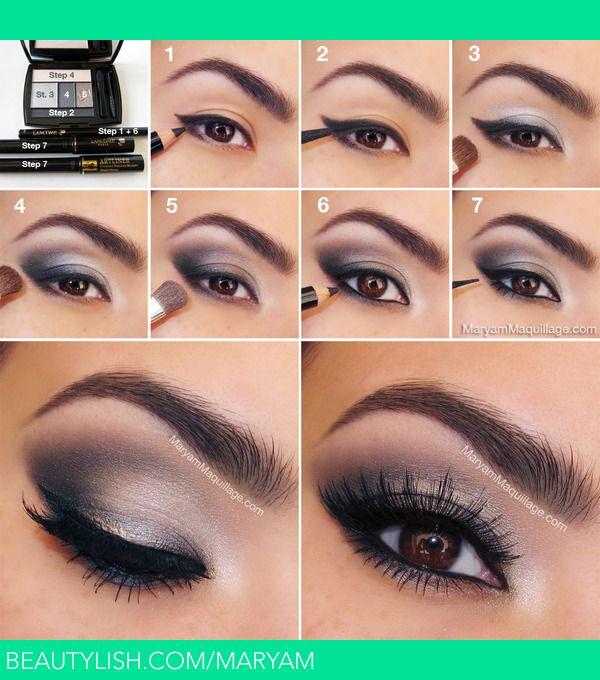 Makeup tutorial Regard félin