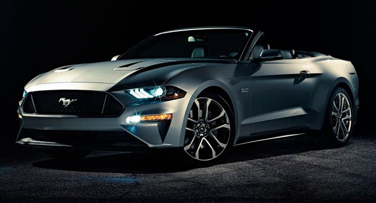 New 2018 Ford Mustang Convertible Officially Revealed