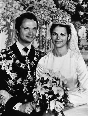 King Carl XIV Gustaf and Queen Silvia