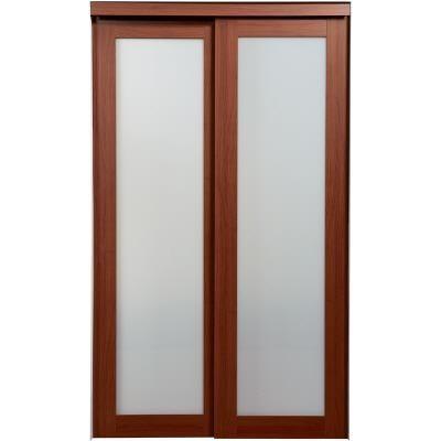 Sliding closet doors home depot canada serenity mirror espresso wood framed interior sliding - Home depot canada sliding closet doors ...
