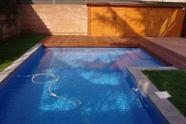 M s de 25 ideas incre bles sobre piscina rectangular en - Piscina madera rectangular ...