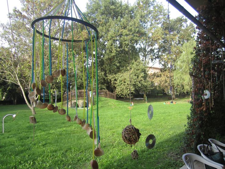 A Senses Garden at the toddler preschool Zenit in the municipality Brescello ≈≈ http://www.pinterest.com/kinderooacademy/preschool-outdoor-play-environments/