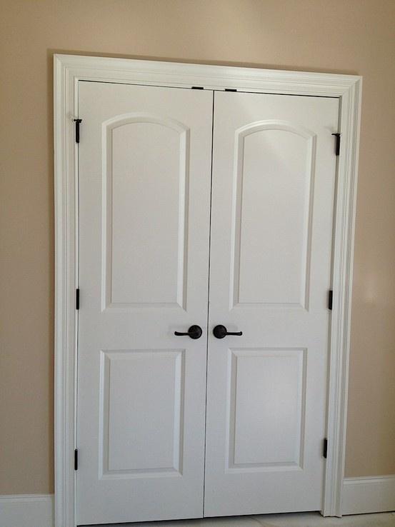 Double Closet Doors Home Decor