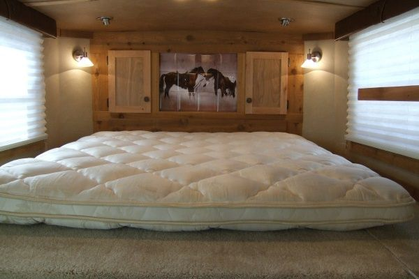 lots of great ideas for adding living quarters to a horse/stock trailer.