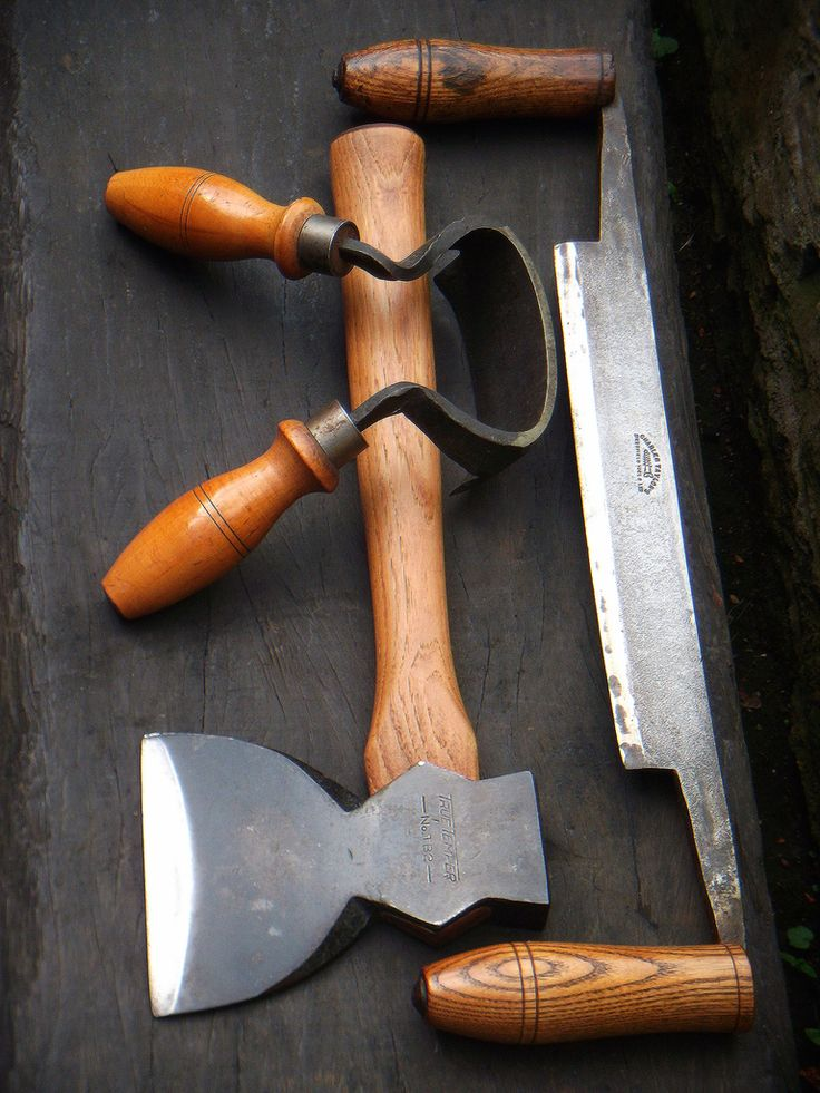 Glenn MacLeod. These three tools, along with an adze have constructed homes…