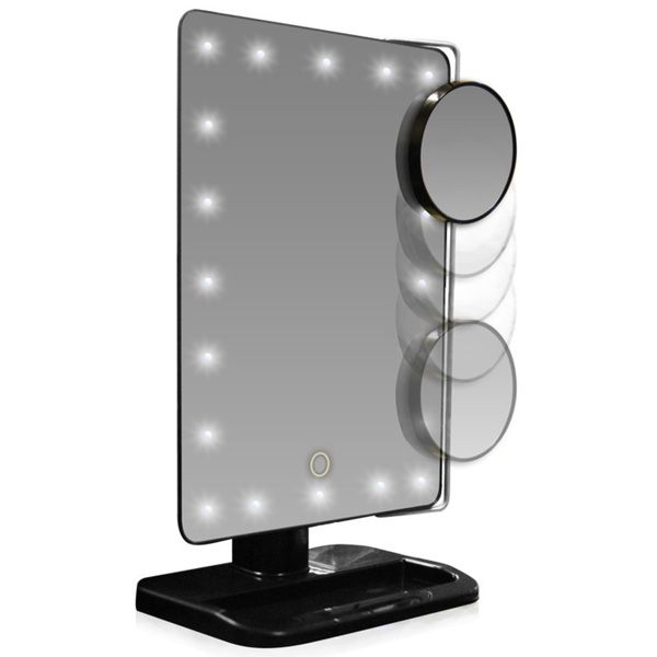LED Lighted Movable 10x Magnification Vanity Mirror. 17 best ideas about Led Makeup Mirror on Pinterest   Makeup light