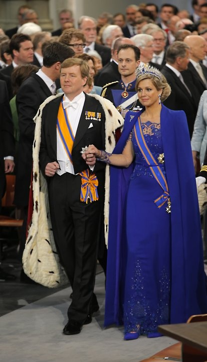 Queen Maxima of the Netherlands. A commoner from Argentina, married to King Wilhelm-Alexander of Orange in Amsterdam