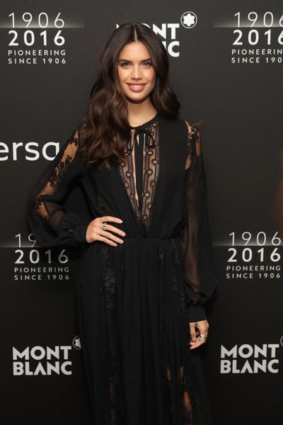 Sara Sampaio Photos - Montblanc 110 Year Anniversary Gala Dinner - Zimbio