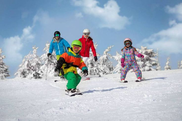 Family fun in Czech Republic ski school