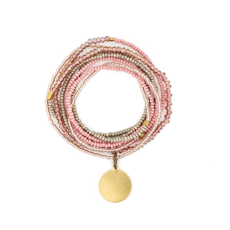 The Makery Heartstring long beaded necklace – MHS21