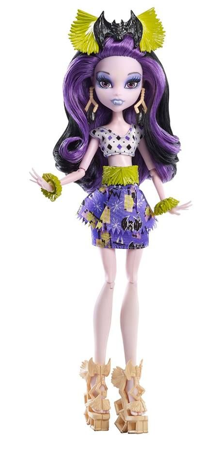 Monster High Ghouls' Getaway Elissabat Doll