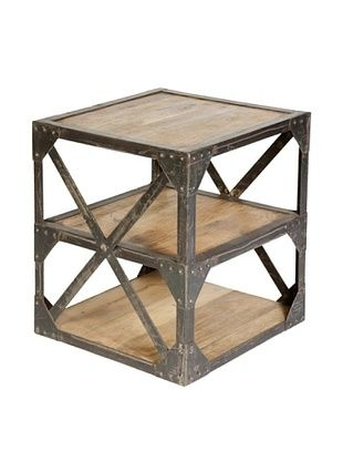 CDI Industrial side table, Natural