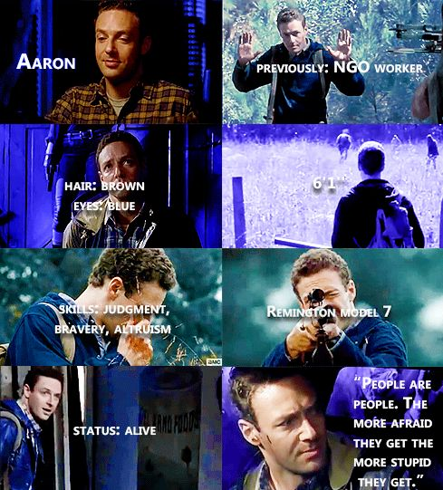Knowing About Aaron #TWD