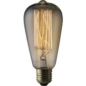 Rustic ST64 60W E27 Dimmable Light Bulb