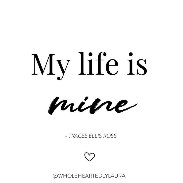 Has anyone else seen the AMAZING talk by @traceeellisross that @glamourmag shared this week? . I watched it on Facebook and my oh my it blew me away especially when she said one of the things that came up for her when journaling was my life is mine . Something about those words cut right through into my soul - Im not exactly sure why but I feel like I really needed to hear that and take it on board for myself too. . So thank you @traceeellisross for reminding me that My Life is Mine…