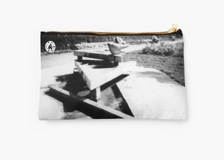 The Fountain studio pouch by Fluxionist on Redbubble