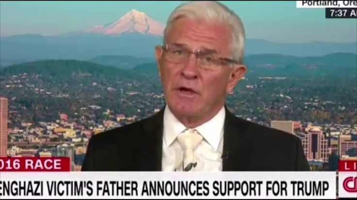 The father of a Benghazi victim destroys CNN's Costello's attempts to de...