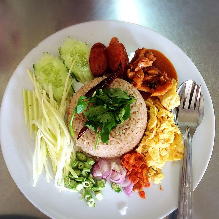 ShrimpーPaste fried rice ^^