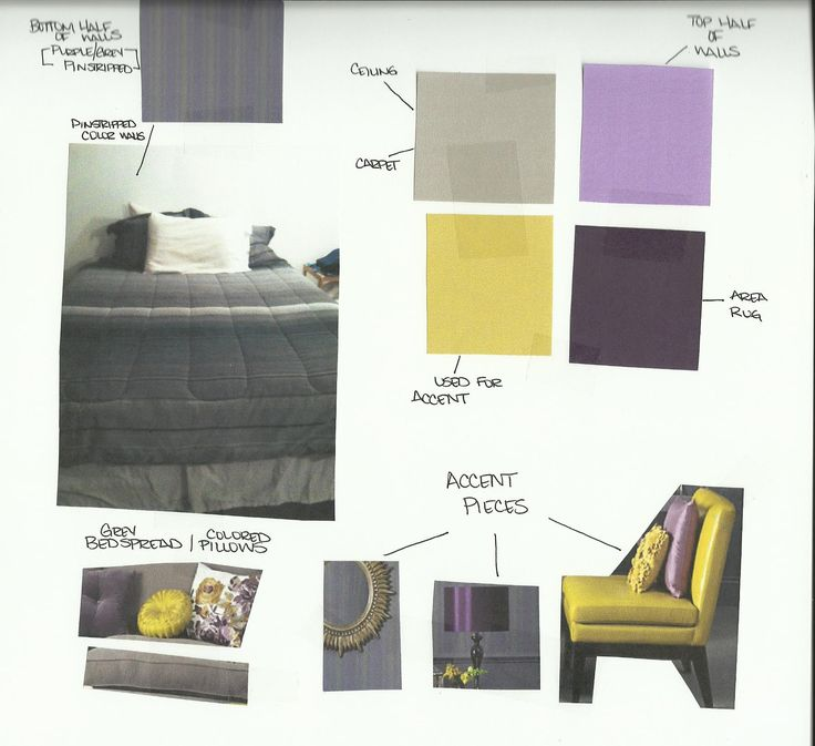 1000+ Images About Living Room With Gray, Purple And