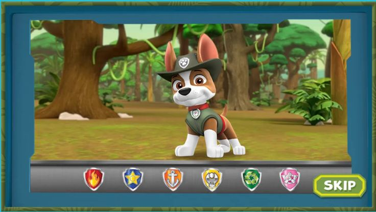 Nickelodeon Games to play online 2017 ♫  Paw Patrol Games - Tracker's Ju...