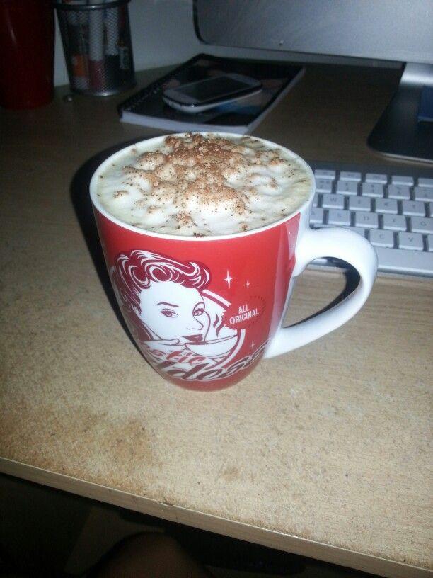 Whey protein cappuccino